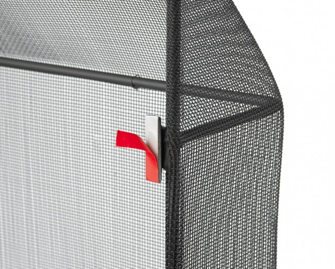 Secured Fireplace Safety Screen